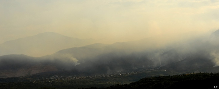 Waldo Canyon Wildfire Photos from the huffington post