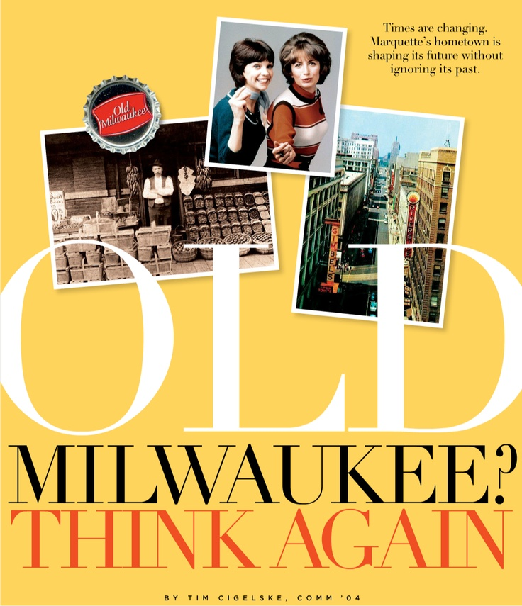 Old Milwaukee? Think again. Here's how our city is changing: http://go.mu.edu/newmilwaukee