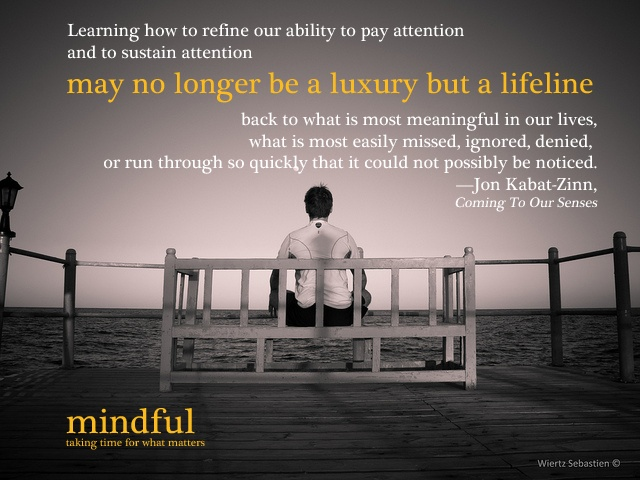 mindful quote of the day. | True Words | Pinterest