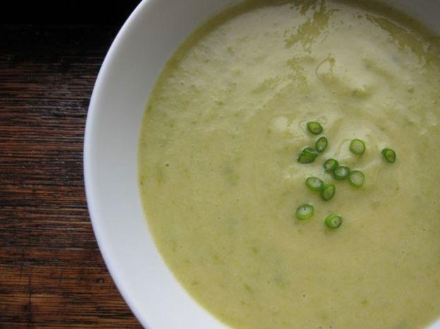 leek soup potato leek soup potato leek soup potato leek soup chilled ...