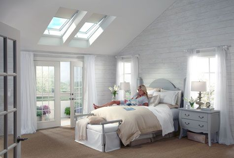 Pin by lindus construction on velux skylights pinterest for Velux solar skylight tax credit