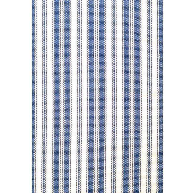 Ticking Stripe Indoor Outdoor Rug