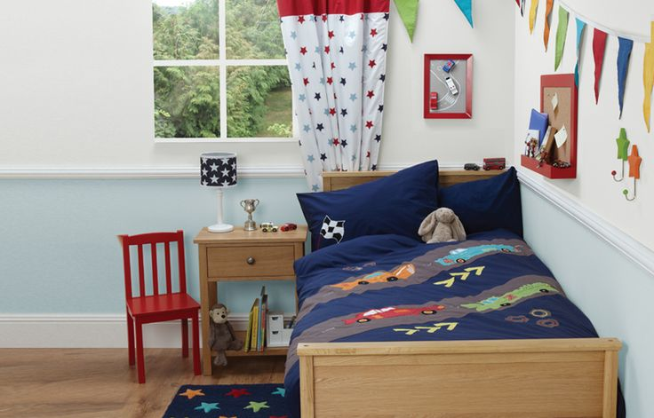 Racing car theme for a boys bedroom cool kids bedrooms pinterest