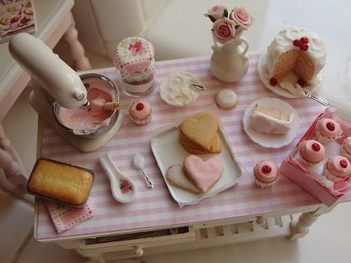 madame soufflè   Shabby Chic Dollhouses & Miniature Sceness   Pintere ...