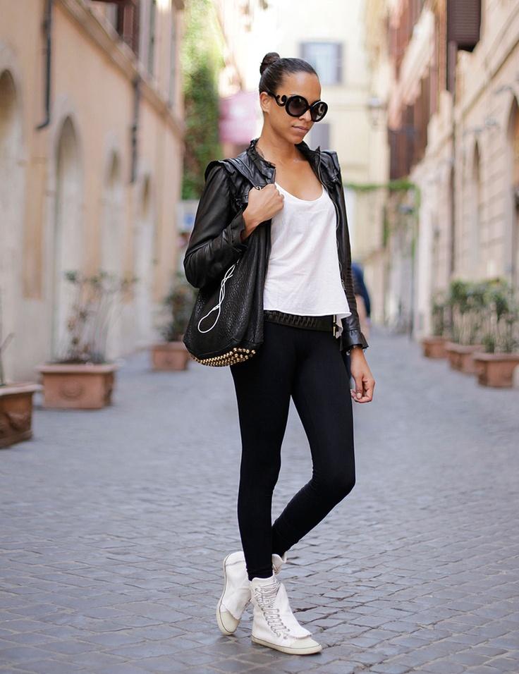 Rome Street Style Elle Uk My Dream Closet Pinterest