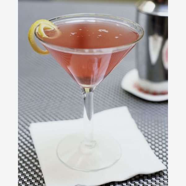 Cosmopolitan.....love a good Cosmo....not too much cranberry juice !