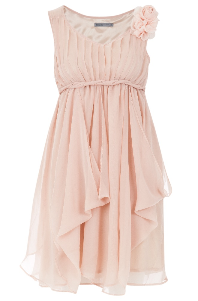 $99 - Soaked in Luxury Pleated Twist Dress