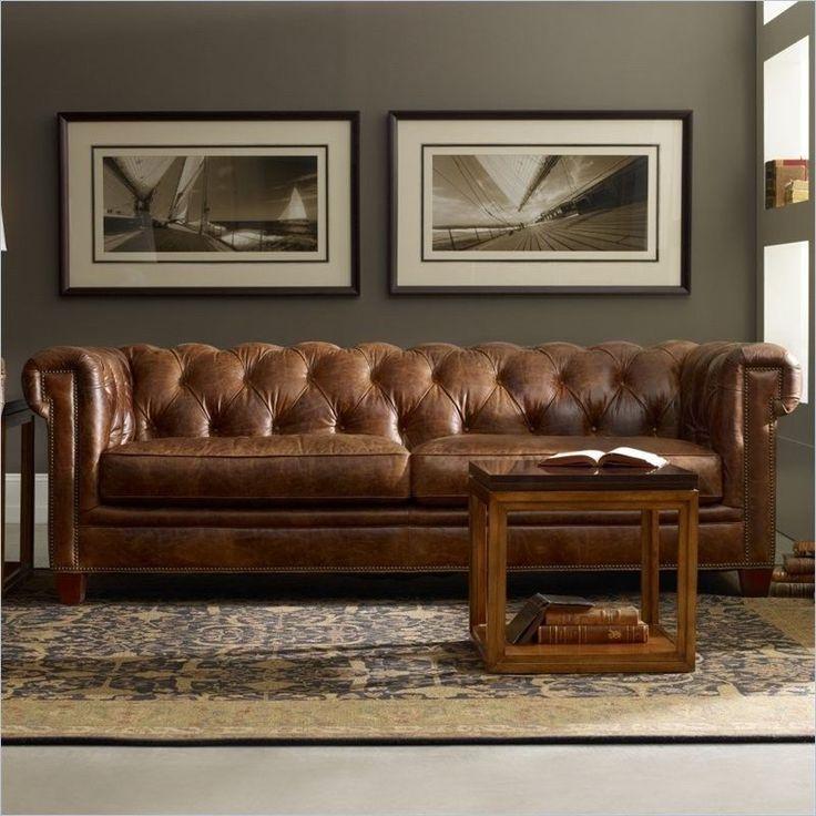 Hooker Furniture Seven Seas Malawi Tonga Brown Tufted