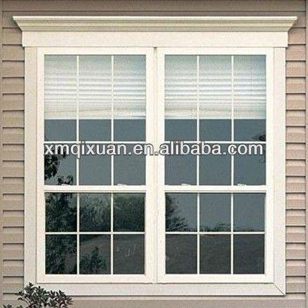 Xiamen Manufacturer Aluminum Casement Window Grill Design