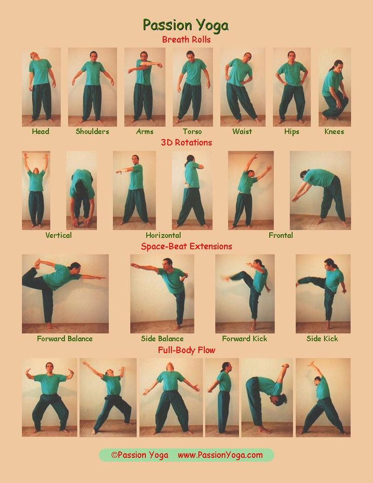 -Passion Yoga Asanas Chart | Yoga | Pinterest