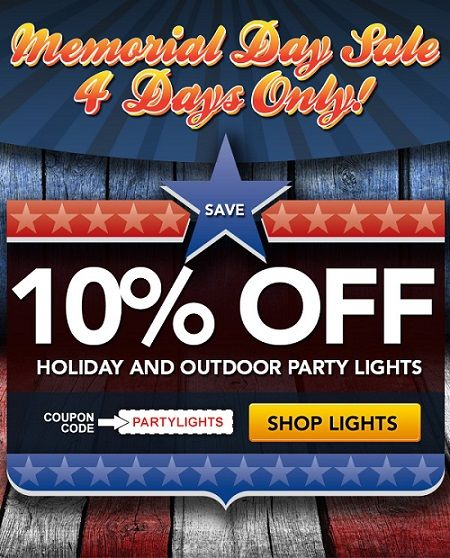 Partylights com coupon discount