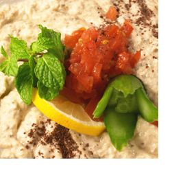 BABA GHANOUSH RECIPE | VEGETARIAN | Pinterest
