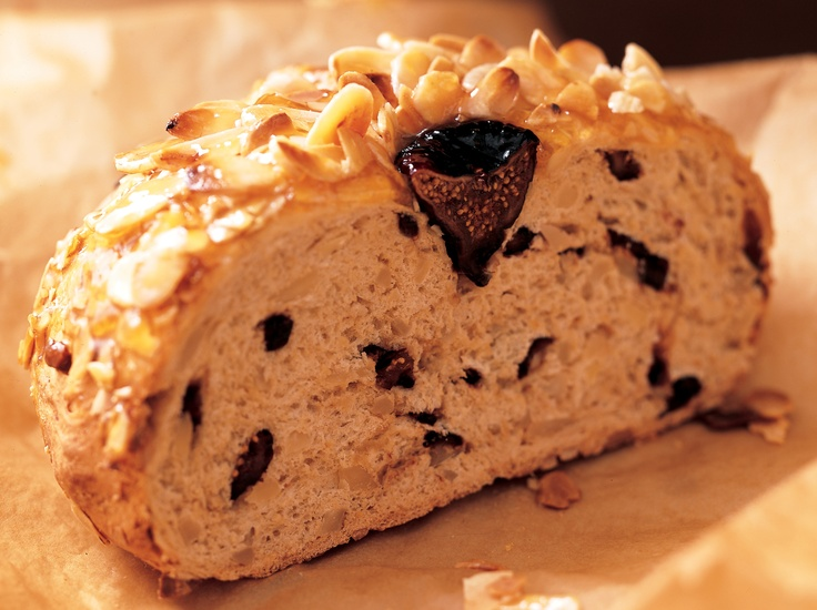"""New Zealand Almond and Fig Bread"""" from Cookstr.com #cookstr"""