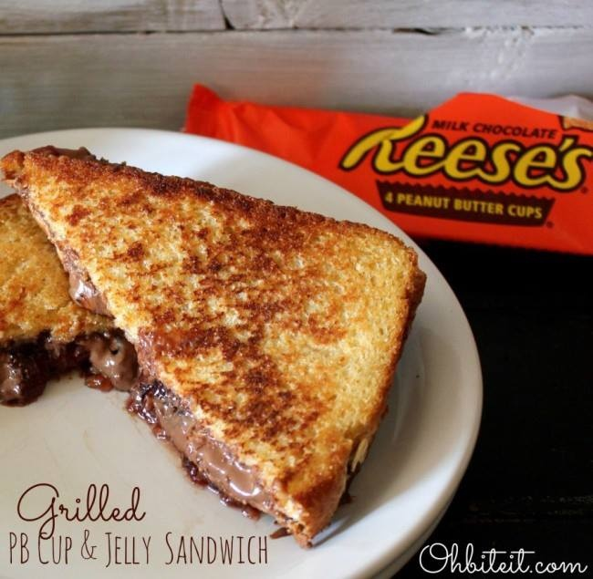 ... the Peanut Butter with Peanut Butter Cups, smush, grill and eat