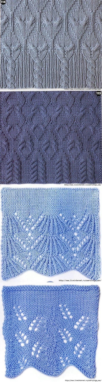 Вязание женского пуловера спицами 66
