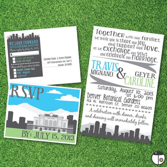 Wedding Invitations Denver is an amazing ideas you had to choose for invitation design