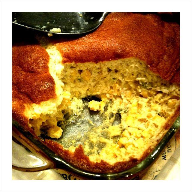 Fresh Corn Spoon Bread | Recipes | Pinterest