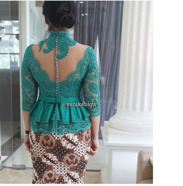 Fashion Kebaya Online Murah Jahit Kebaya Muslim Wisuda