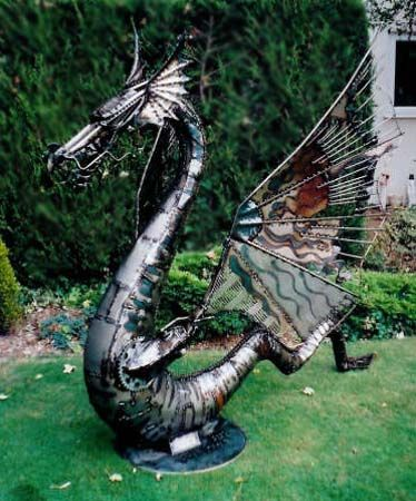 Steel Lawn Dragon Sorcellerie Illusions Frissons