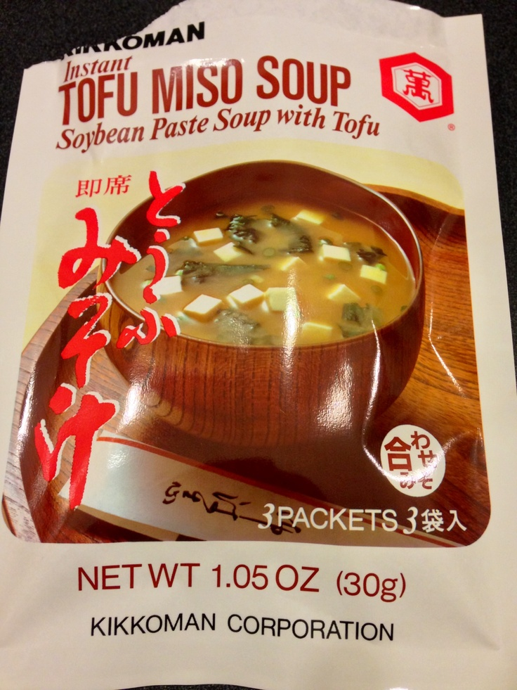 Instant Miso soup! | Food? Yes, please! | Pinterest