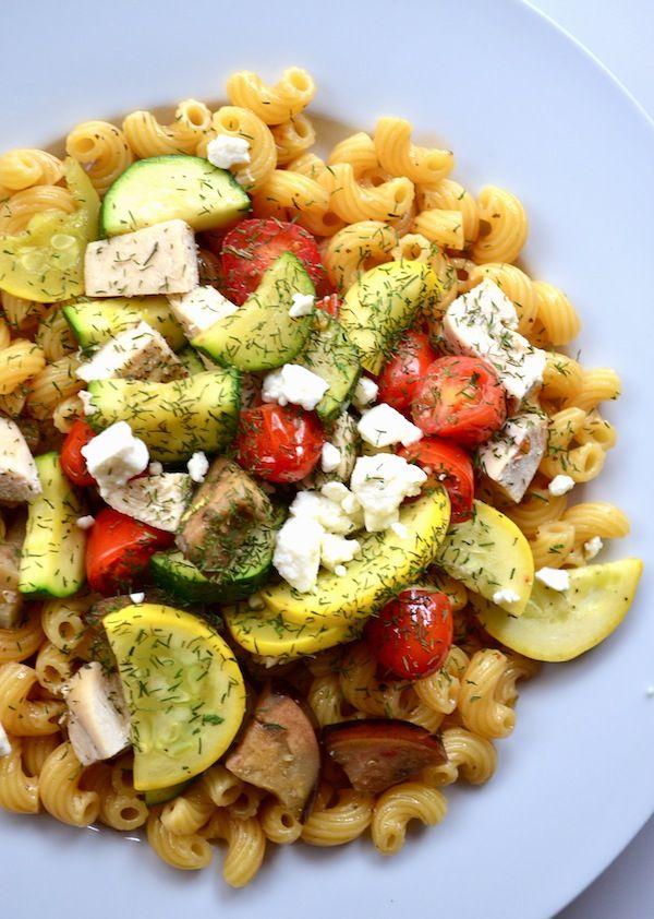 Mediterranean Pasta Salad from Rachel Schultz