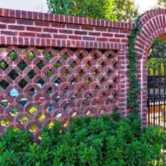 Boundary Walls | Brick Garden Wall Ideas « Home Improvement Made Easy ...