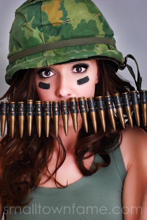 Smokey Eye Army Girl | What I Do! | Pinterest