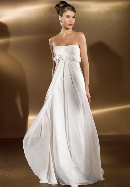 Flowy Wedding Dresses Pinterest