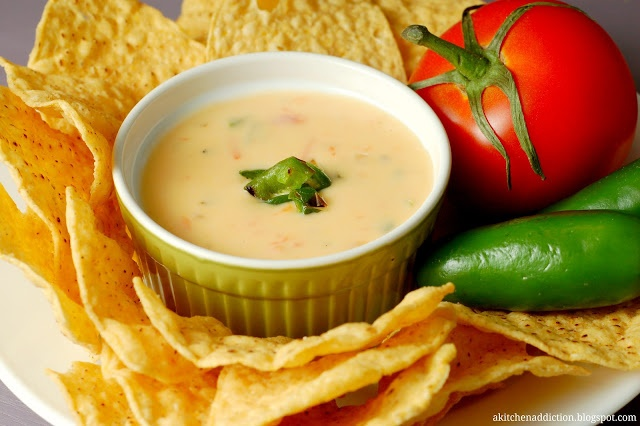 Roasted Chile con Queso