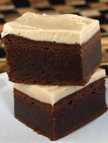 Kahlua Brownies with Browned Butter Kahlua Icing-My mother-in-law and ...