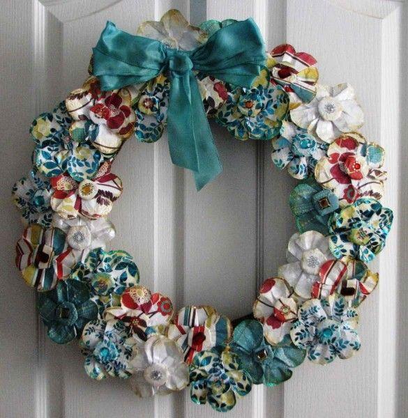 Elegant wreath christmas 585x600 wreaths pinterest
