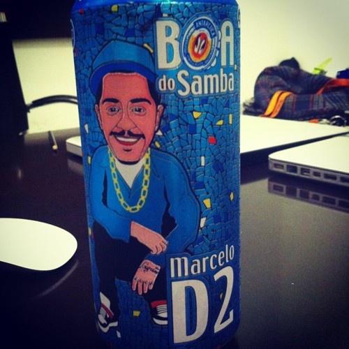 A Boa do D2 … #embaixadordaboa  (Publicado com o Instagram)