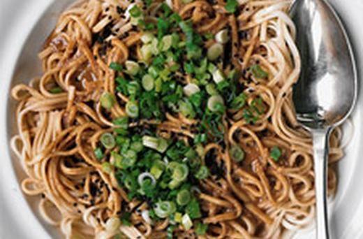 Sesame Udon Noodles | Meal Planning | Pinterest