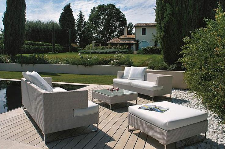 Greige office outdoor emu lusso exclusive italian for Outdoor furniture italy