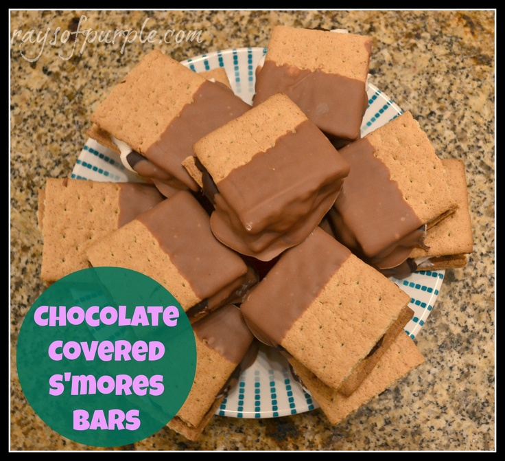Chocolate Covered S'mores Bars! | Chocolate Covered... | Pinterest