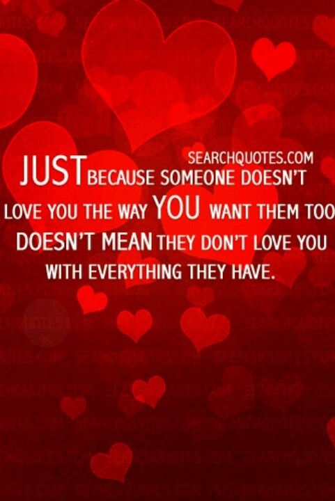 love is different for everyone quotes pinterest