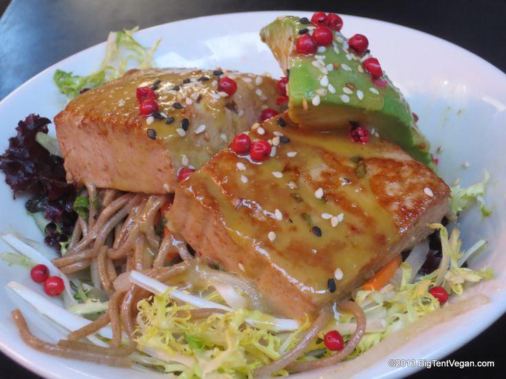 Tataki Tofu with Miso Mustard Sauce, Chef Kasja Alger & Chef Susan ...