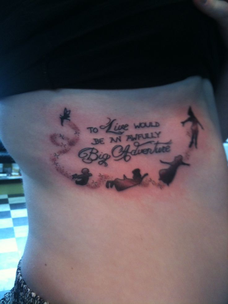 28 to live would be an awfully big adventure tattoo for To die would be an awfully big adventure tattoo