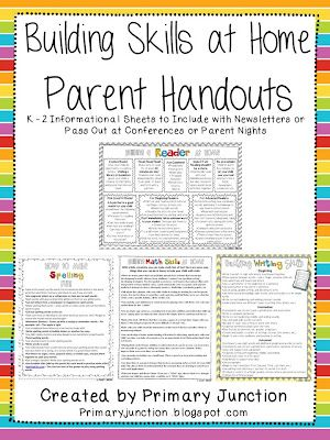 Parent Handouts (Primary Junction)