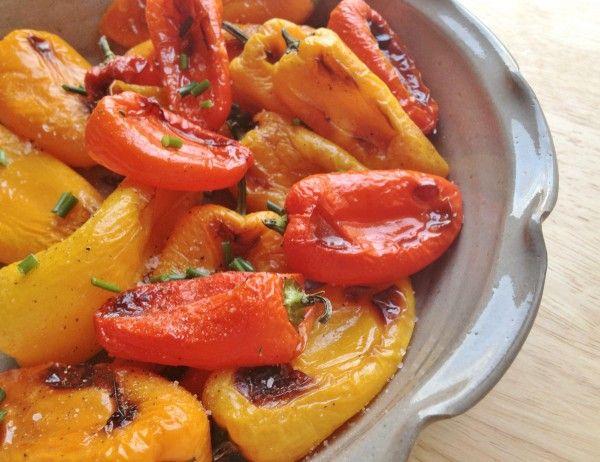 Roasted Mini Sweet Peppers | Eat Good, Feel Good! | Pinterest