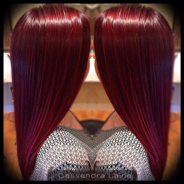 2013 Hair Color Cherry Cola Brown Cherry Cola Plum Brown Hair Hair Dye ...