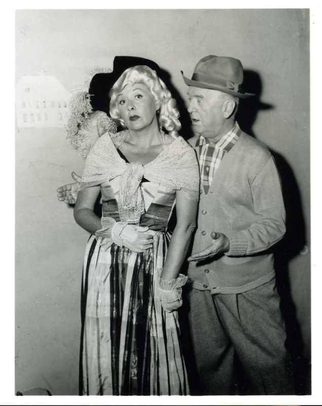 Vivian Vance and William Frawley   Television Academy