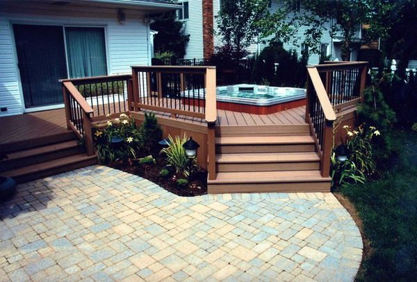 Deck and patio ideas for small backyards mystical for Deck patio designs small yards