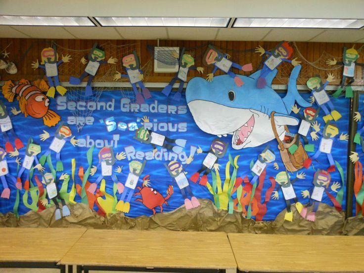 Classroom Decorating Ideas Ocean Theme ~ Pin by debbie cooke on ocean theme pinterest