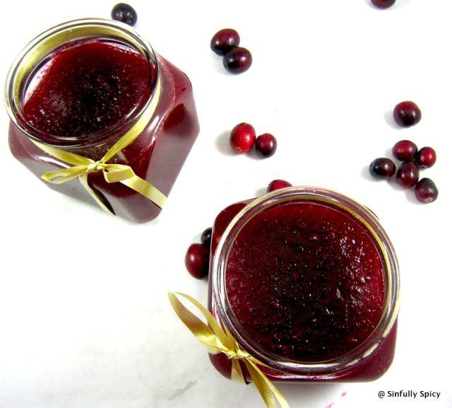 Spiced Cranberry Cabernet Jam Recipe — Dishmaps