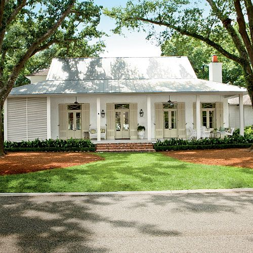 Curb Appeal Alert Breezy River House