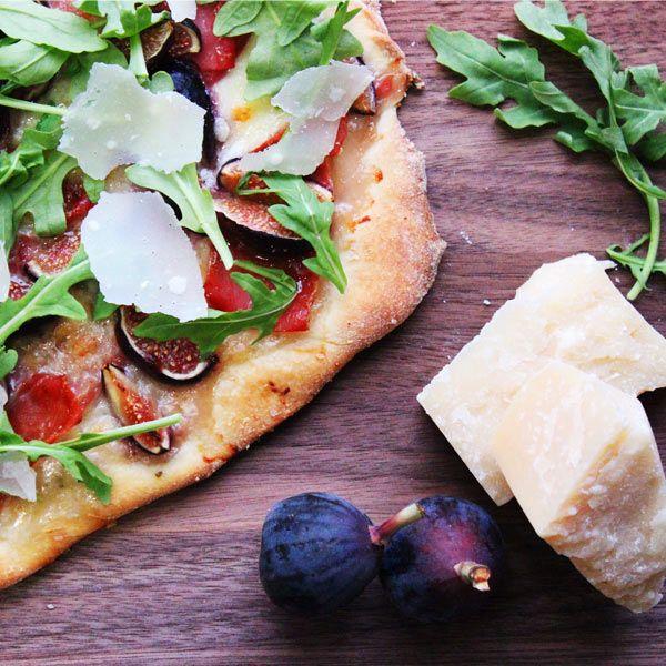 Fig and Prosciutto Pizza Recipe with Arugula | Recipe