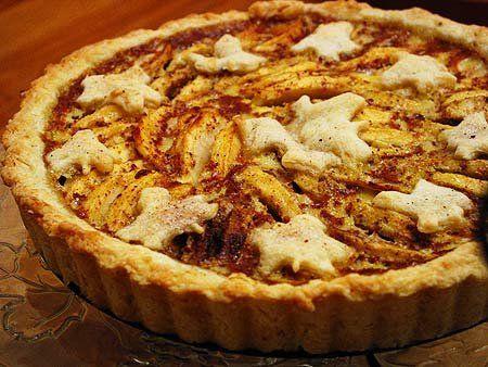 Apple Custard Tart | Recipe