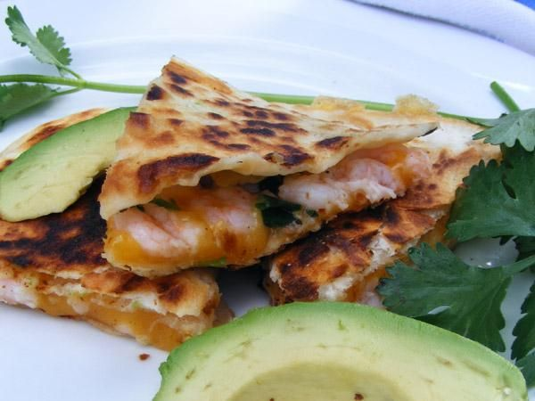 Shrimp Quesadilla | Recipe