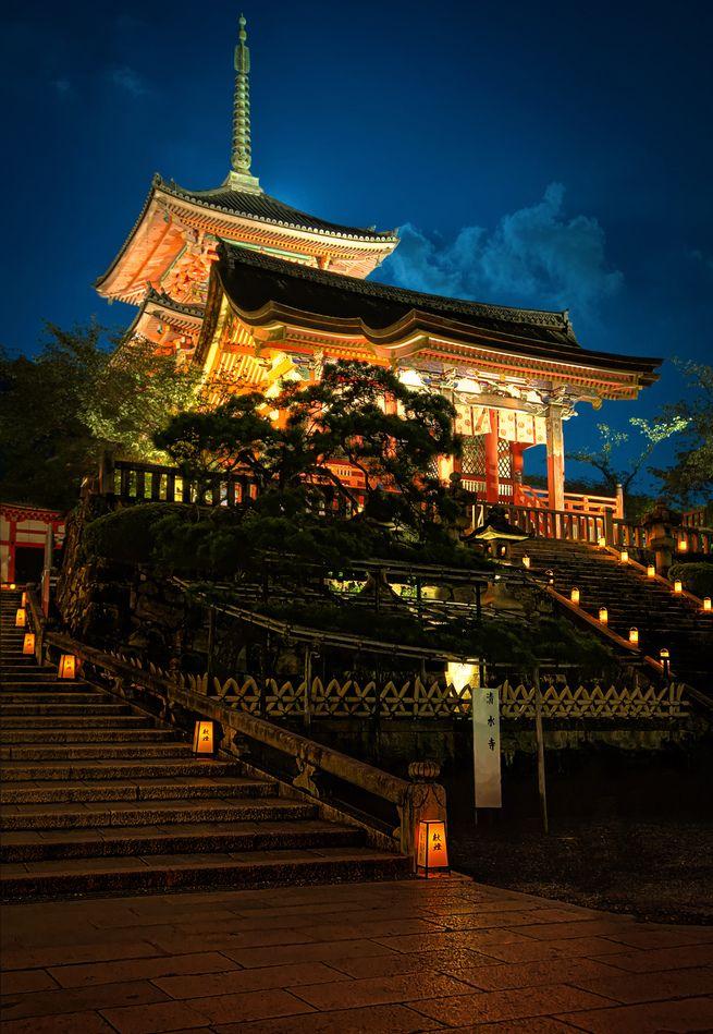 Kiyomizu-dera Temple #Kyoto #Japan  Beautiful world  Pinterest